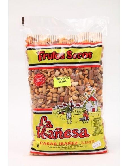 Revuelto Frutos Secos Extra Bolsa 1 Kg.